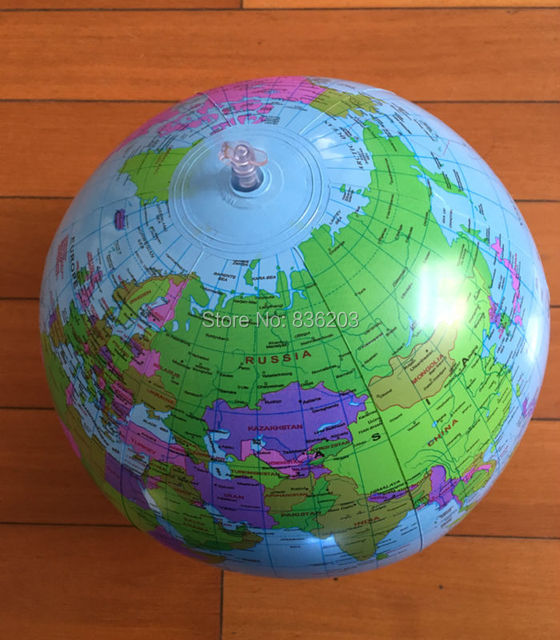 1pc 25cm globe map inflate inflatable round earth world teacher 1pc 25cm globe map inflate inflatable round earth world teacher beach ball geography detailed illustration teaching gumiabroncs Images
