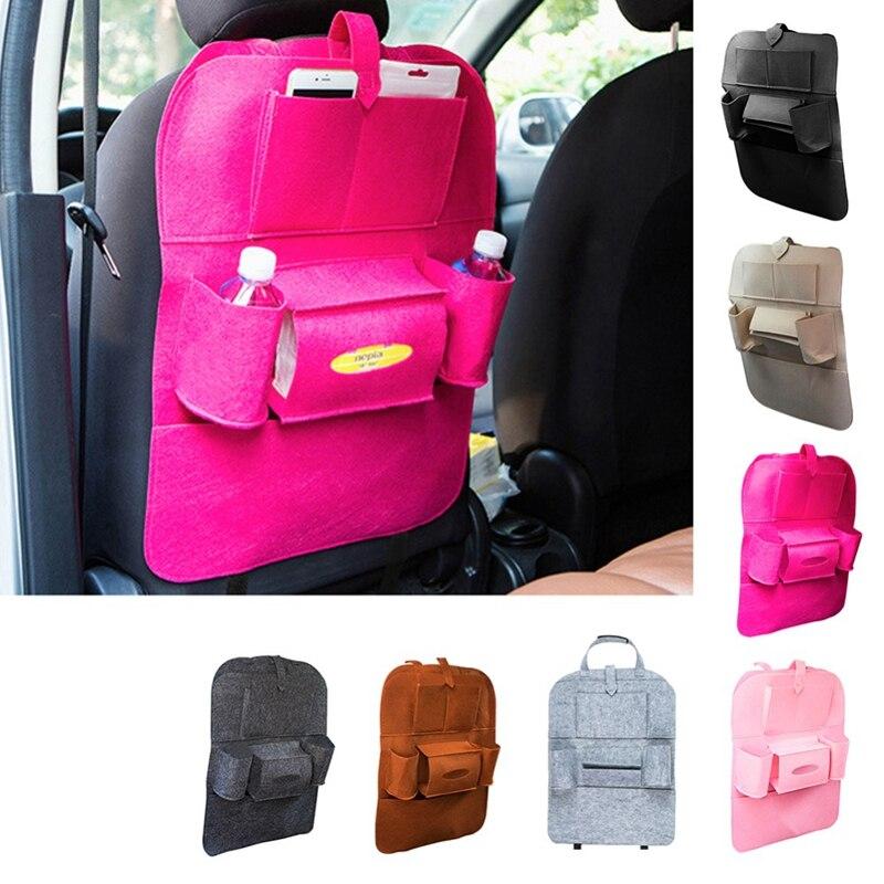 High quality multi - functional car backpack bag pocket car seat back pocket bag and storage for car