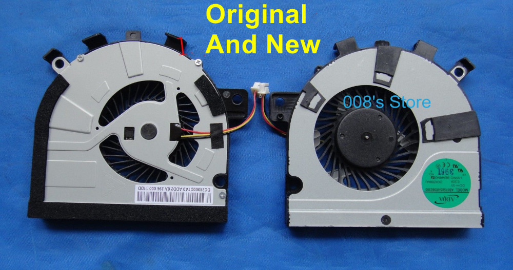 CPU Cooling Fan Laptop Cooler for Toshiba Satellite M40T-AT02S M50 M50-A M50D-A