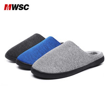 MWSC Man Slippers Winter Slippers Home Unisex Indoor Floor Shoes Machine Washable Shoes Warming Sample Style Winter Footwear