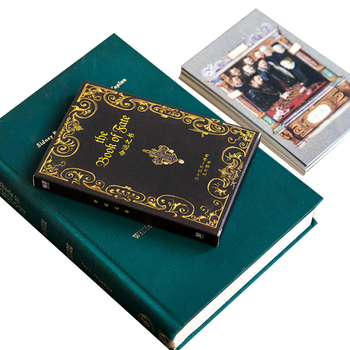 4packs/lot Original Postcards Book Of Destiny Of Boxed Message Cards And Good Quality original pxl 5421 selling with good quality and contacting us
