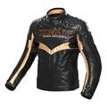 2016 Nueva DUHAN PU de Cuero Off-Road de Protección Motocross Motobiker Engranaje Protector de La Motocicleta jaqueta Chaqueta de Invierno Cálido