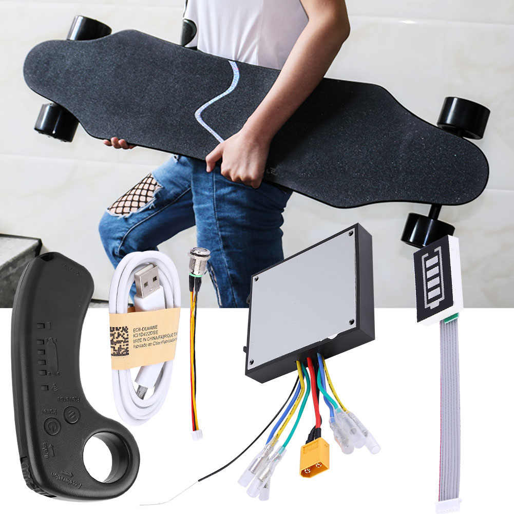 100% Original New Mini remote Controller Built-in Lithium Battery With Receiver For Electric Skateboard Longboard with Remote