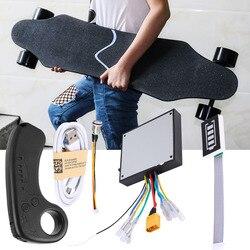 100% оригинальный новый мини пульт дистанционного управления Встроенный литиевый аккумулятор с приемником для электрического скейтборда Ло...