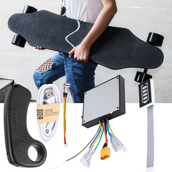 100% Original nuevo Mini control remoto batería de litio incorporada con receptor para monopatín eléctrico Longboard con control remoto patineta electrica