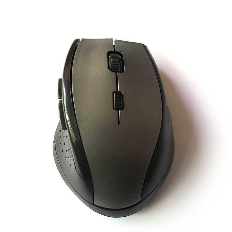 Новая горячая мини 2,4 ГГц Беспроводная оптическая игровая мышь для ПК Игровые ноутбуки новая игровая беспроводная мышь с usb-приемником
