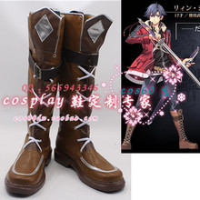 The Legend Of Heroes Sen No Kiseki II Rean Schwarzer Cosplay Shoes Boots S008
