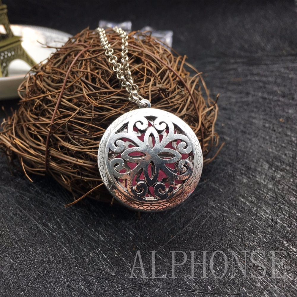 1 package classic style sweater necklace simple cross necklace aromatherapy essential oil necklace Christmas