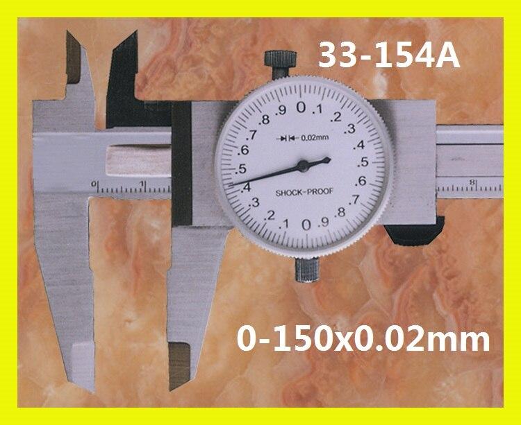 Dial font b Caliper b font 0 150x0 02mm 33 154A