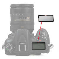 Shoulder small Externe Vitre Outer Glass screen Repair part For Nikon D80 D90 D200 D300 D600 D610 D700 D800 D7000 D7500 D810