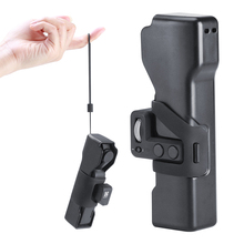 Osmo ポケット収納袋ポータブル旅行保護バックルケースカバースリングとロープ dji Osmo ポケットカメラ