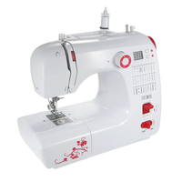 Electric Household Sewing Machine 30 Stitch Patterns Double Thread Adjustable Speed LED Display Presser Foot Pedal AC100 240V