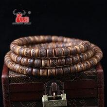 10 шт. натуральный непальский Тибетский Тип старого яка кости ведро бисер «сделай сам» аксессуары. Отверстие 1,5 мм