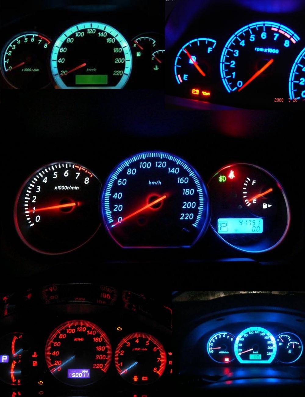 Buy Autoec 10pcs B8 4d B8 4 8 4d 5050 Led 1 Smd