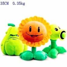 Toy Plush-Toy Pea Gift Zombies 35cm-Plants Sunflower-Melon Stuffed 2figurine Kids Vs