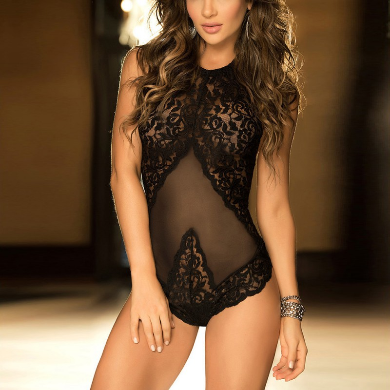 Sexy Style Summer Women Lingerie Lace Dress Babydoll Underwear Intimates Nightwear Sleepwear