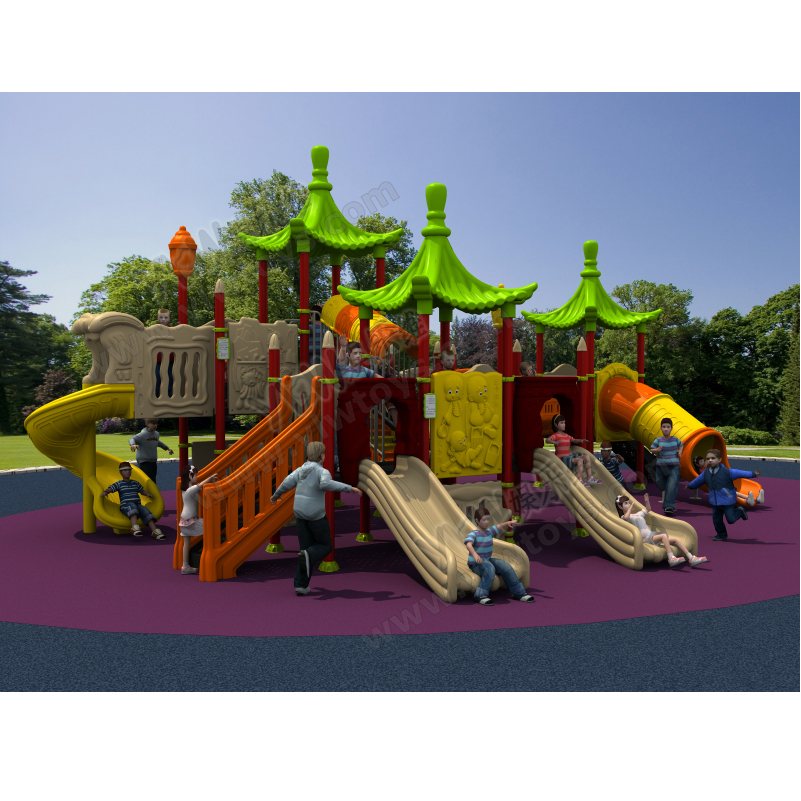 Çocuklar için büyük okul oyun alanı slayt / çocuklar için park - Eğlence - Fotoğraf 1