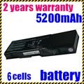 Jigu bateria do portátil para dell inspiron 1501 6400 e1505 pp20l pp23la latitude 131l vostro 1000 xu937 ud267 rd859 gd761 312-0461