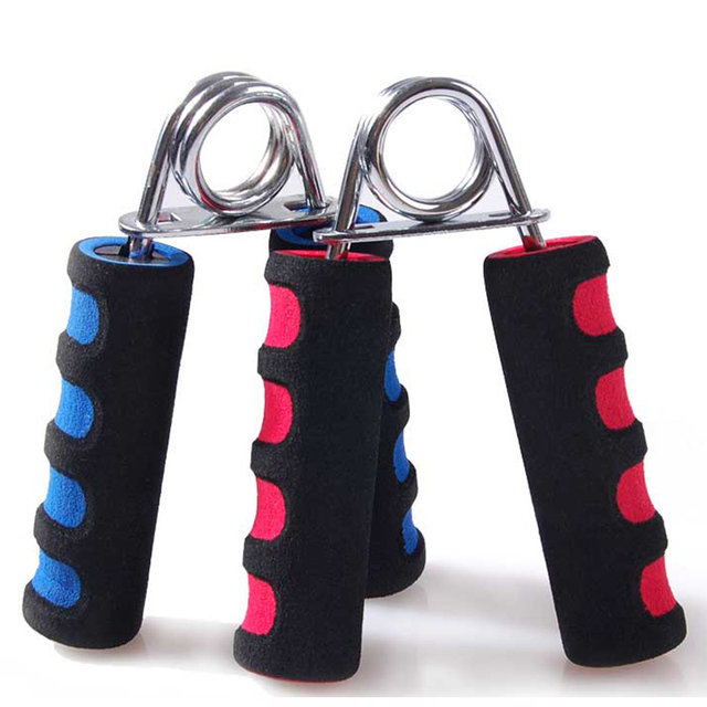 25-30kg Foam Hand Grip Fitness Forearm Arms Muscle Finger Gripper Trainer