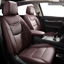 Kokololee Custom Lederen auto stoelhoezen Voor Hyundai Sonata Elantra Tucson i30 IX35 IX25 MISTRA Verna SantaFe ENCINO autostoeltjes