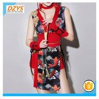 DZYS ZF dance Yiba retro female singer cheongsam costume sexy adult collar dance dress cosplay geisha costume