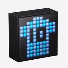 Divoom Timebox mini Tragbare Bluetooth smart wecker lautsprecher mit App kompatibel für IOS Android Xiaomi