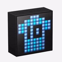 Divoom Timebox мини портативный сна помощи умный будильник с ПРИЛОЖЕНИЕМ программируемый пиксельные ПРИВЕЛИ Bluetooth динамик