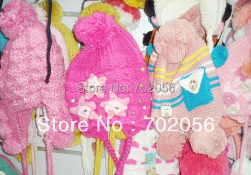 2017 winter boys girls Crochet Hat Beanie Knitted hat gift cap 20pcs/lot #3317
