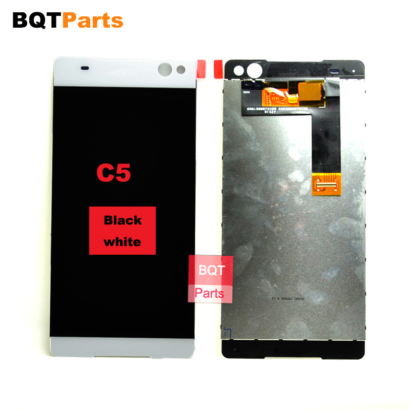 ФОТО 100% Tested for Sony FOR Xperia C5 Ultra Full Lcd Display with Touch Screen Digitizer Assembly 100% Guarantee