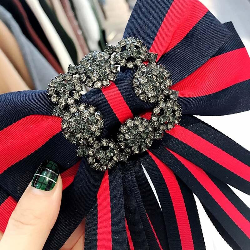 Tessuto Vintage Bow Spille per Le Donne Cravatta Materiale Importato della Festa Nuziale Accessori di Abbigliamento Accessori di Alta Qualità