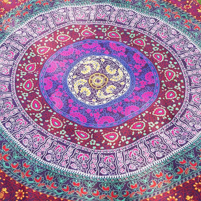 146 180 Rectangular Scarf Indian Mandala Tapestry Hippie Wall Hanging  Digital Printing Beach Towels Sunscreen Square Shawl 6519777e77