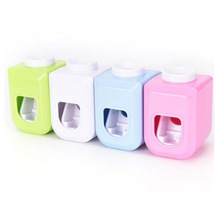 Hands Free Automatic Squeezer Toothpaste Dispenser Adjustable Comfortable for Bathroom New