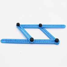 Ruler Measuring 4 Sided Instrument Template Tool Multi Angle Magic Template Tool All Forms Outdoor Tools