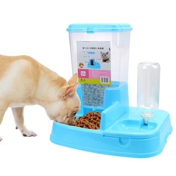 1 Juego de alimentador automático para mascotas perro gato