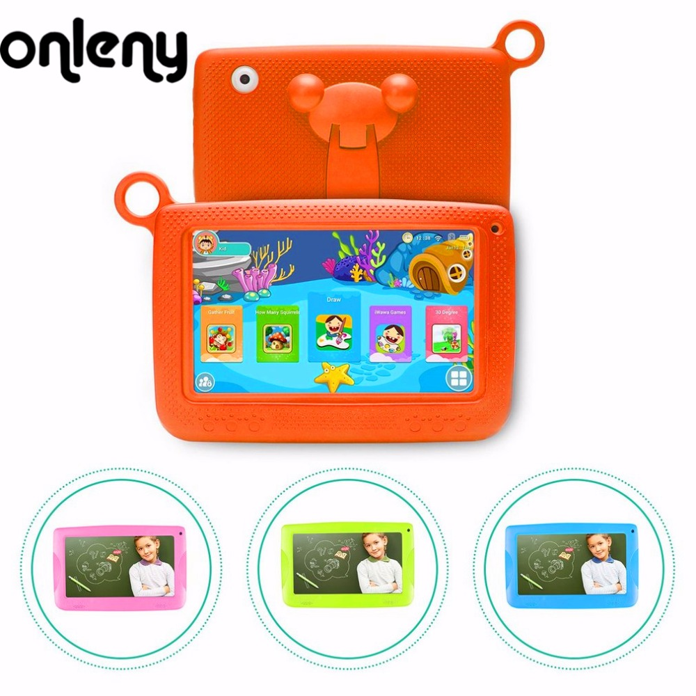 Onleny 7 Tablet PC 512MB 4G A33 Quad Core Android Tablet Wireless Dual Camera Children Education Games BabyPAD Birthday Gift odell education developing core literacy proficiencies grade 7