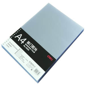 Binding-Film Plastic Paper Transparent A4 Student 3820 DL Teaching-Equipment Effective
