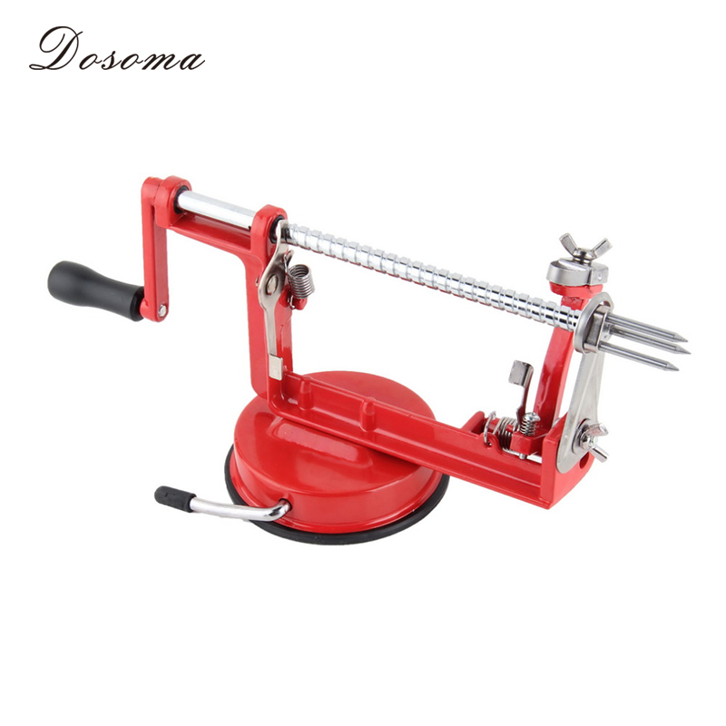 Stainless Steel 3 In 1 Apple Peeler Fruit Peeler Slicing Apple Fruit Machine Peeled Tool Creative Home Kitchen Cutter Zesters