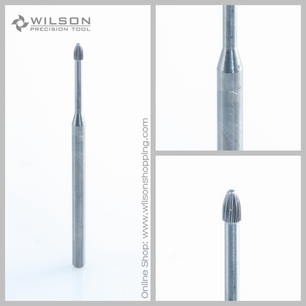 2pcs - Cuticle Clean - WILSON Carbide Nail Drill Bit Manicure Electric Nail Drill Machine Nail Accessories