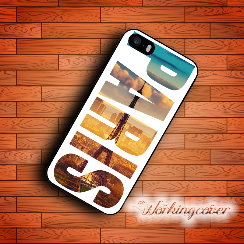 Capa Luxury Paris City Case for iPhone 7 6 6S Plus 5S SE 5 5C 4S 4 Case Cover for iPod Touch 6 5 Case.