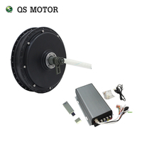 QS Motor72V 100km/h  QS Motor 3000W 205 50H V3  3TWINDING Electric Motor for Bicycle Bike Kits with SVMC72150  150A controller
