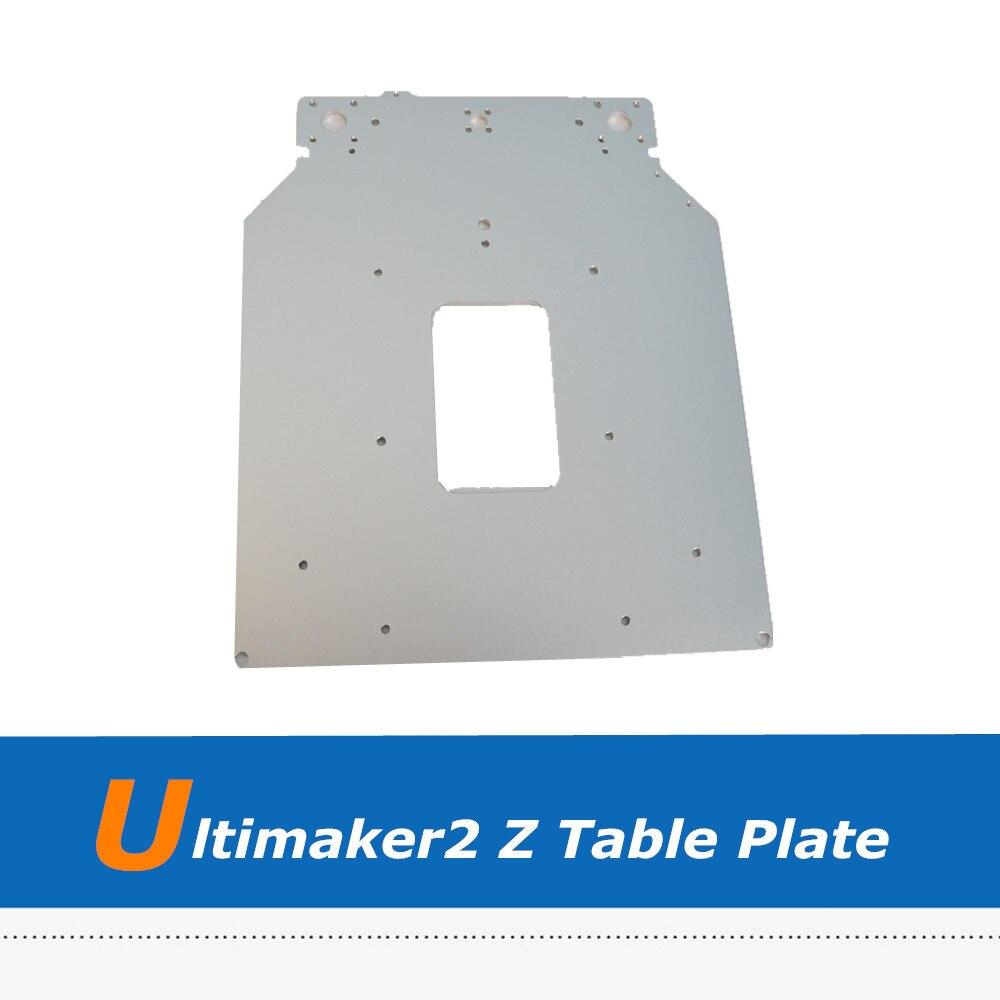 Imprimante 3D Ultimaker2 pièces nouvelle plaque d'aluminium de Base de Table UM2 Z