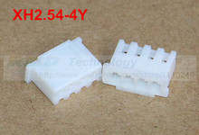 50pcs/lot XH2.54-4Y XH2.54 Female connector housing 2.54mm 4pin free shipping
