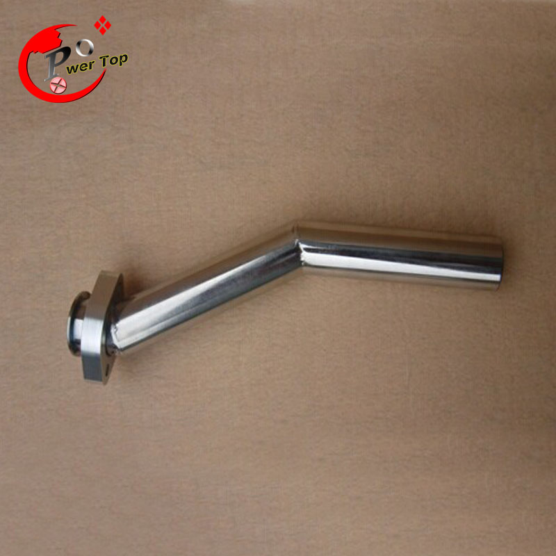 Stainless steel exhaust pipe Tuned Pipe for 26cc Zenoah RC Boat Engine rc stainless steel exhaust pipe tuned pipe 26cc for boat engine
