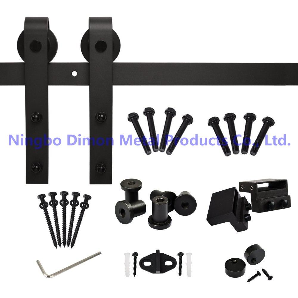 Димон Америка Стиль Лидер продаж дешевые деревянные рамки для фотографий оборудование для раздвижной двери сарая DM-SDU 7201 без трек