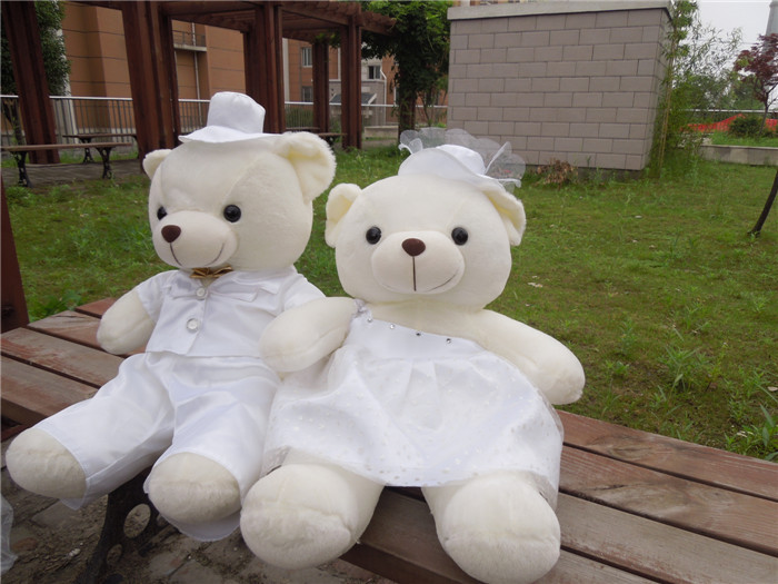 Free shipping 70cm wedding teddy bear plush toy wedding gift bear high quality best price super 68cm high quality low price teddy bear plush toy cute doll birthday gift for christmas gifts for children free shipping