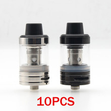 10Pcs S1 RBA Tank Atomizer 0.5 Ohm Core Coil 2.5ML Capacity 22mm 510 Thread For Electronic Cigarettes Vape Vapor Box Mod original electronic cigarette 240w vaptio n1 pro tc box mod vaping mod support vw 18650 battery fits 510 thread tank atomizer
