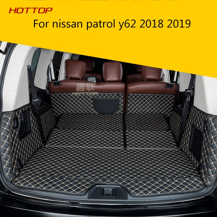 Topunion car trunk mat For nissan patrol y62 2018 2019 Cargo Liner Interior Accessories Carpet car stylingTopunion car trunk mat For nissan patrol y62 2018 2019 Cargo Liner Interior Accessories Carpet car styling