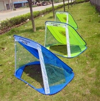 цена на Foldable Football Gate Net Goal Gate  Portable Soccer Ball Practice Gate for Children  Soccer Training Football Games for Kids