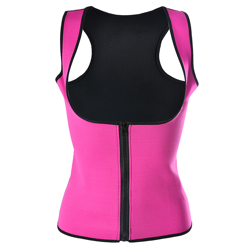 Women Waist Support Zip Body Shapers Waist Trainer Corset Body Slimming Trimmer Corset Workout Thermo Push Up Trainer
