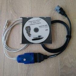 Fuera de borda profesional para los conectores moldeados del cable de diagnóstico del corredor de YAMAHA - Wave para el uso prolongado